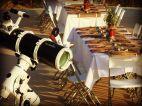 Telescopio, cata y cena